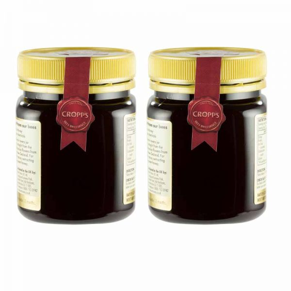 +100 Manuka Honey 250g Twin Pack