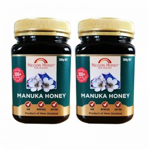 +100 Manuka Honey 500g Twin Pack