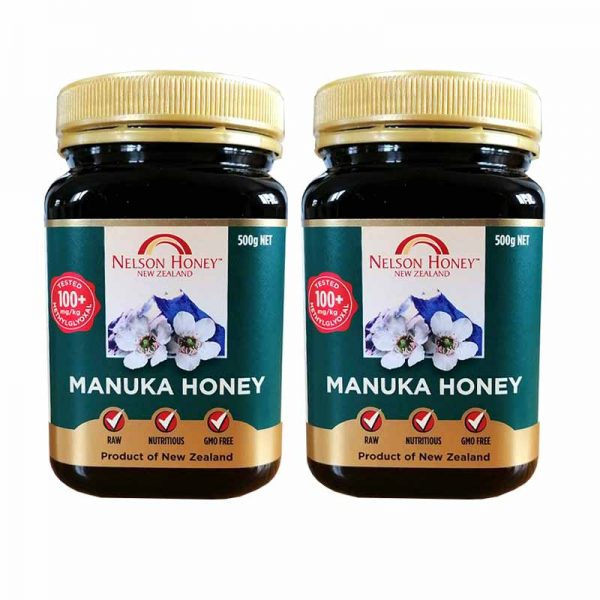 +100 Manuka Honey 500g Twin Pack