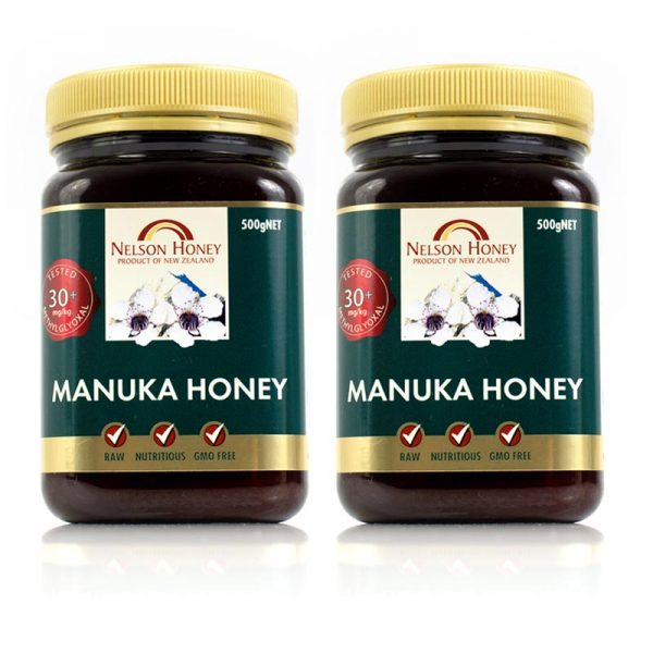 +30 Manuka Honey 500g Twin Pack