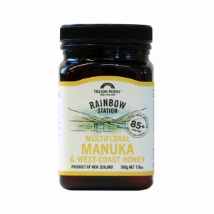 Rainbow Station Manuka Honey & West Coast 85+ Blend 500g
