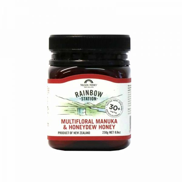 Rainbow Station Manuka & Honeydew Honey 30+ 250g