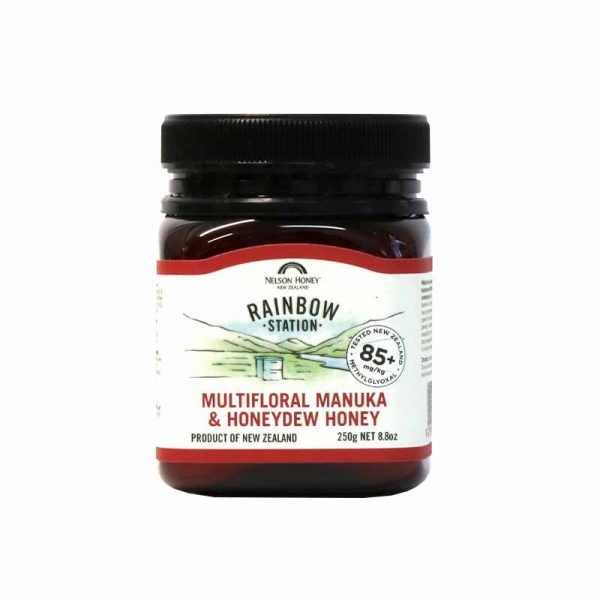 Rainbow Station Manuka & Honeydew Honey 85+ 250g