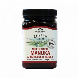 Rainbow Station Manuka & Honeydew Honey 85+ 500g